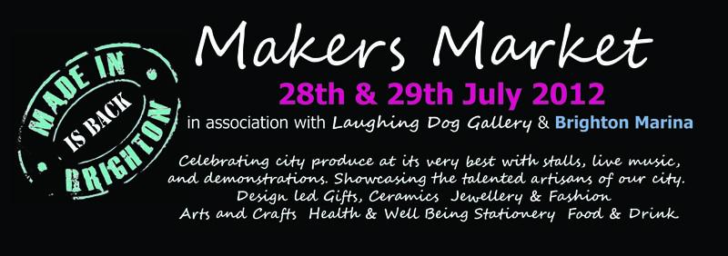 'Made in Brighton' Market this weekend at Brighton Marina