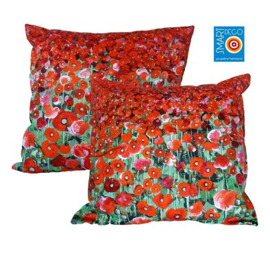 Smart Deco poppies