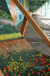 Smart Deco Deckchairs Santa Fe Deckchair by British artist Jacqueline Hammond