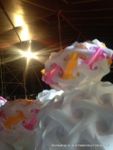 Smarty Lamps Backstage Cabaret Glastonbury Festival