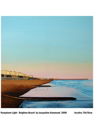 Painting by British artist Jacqueline Hammond
