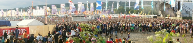 The mass spectacle that is Glastonbury Festival